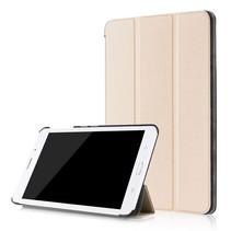 Samsung Galaxy Tab A 8.0 SM-T380 Tri-Fold Book Case - Goud