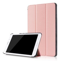 Samsung Galaxy Tab A 8.0 SM-T380 Tri-Fold Book Case - Rose-Gold