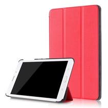 Samsung Galaxy Tab A 8.0 SM-T380 Tri-Fold Book Case - Rood
