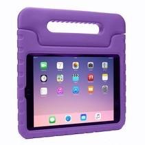 iPad 9.7 (2017/2018) hoes - Schokbestendige case met handvat - Paars