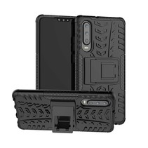 Schokbestendige Back Cover - Huawei P30 - Zwart