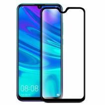 Huawei P Smart 2019 - Full Cover Screenprotector - Gehard Glas - Zwart