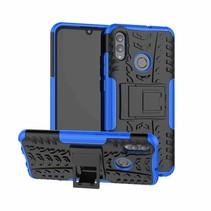 Schokbestendige Back Cover - Huawei P Smart 2019 - Blauw