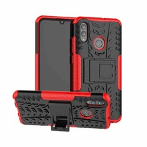 Schokbestendige Back Cover - Huawei P Smart 2019 - Rood