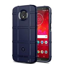 Motorola Moto Z3 Play hoes - Heavy Armor TPU Bumper - Blauw