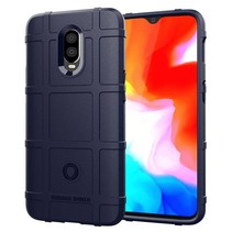 Oneplus 6T hoes - Heavy Armor TPU Bumper - Blauw