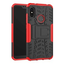 Schokbestendige Back Cover - Xiaomi Mi A2 - Rood