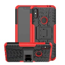 Schokbestendige Back Cover - Motorola Moto One Power (P30 Note) - Rood