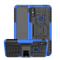 Schokbestendige Back Cover - Motorola Moto One Power (P30 Note) - Blauw