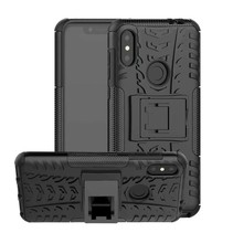 Schokbestendige Back Cover - Motorola Moto One Power (P30 Note) - Zwart