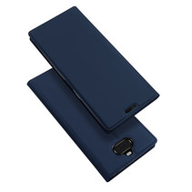 Sony Xperia 10 hoes - Dux Ducis Skin Pro Series Blauw