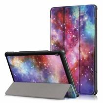 Lenovo Tab M10  hoes - Tri-Fold Book Case (TB-X605) - Galaxy