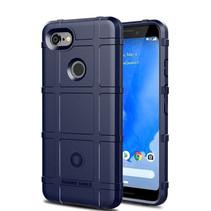 Google Pixel 3 XL Lite hoes - Heavy Armor TPU Bumper - Blauw