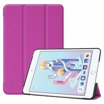 iPad Mini 2019 hoes - Tri-Fold Book Case - Paars