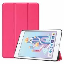 iPad Mini 2019 hoes - Tri-Fold Book Case - Magenta