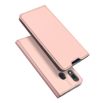 Samsung Galaxy A30 hoesje - Dux Ducis Skin Pro Book Case - Rosé-Goud