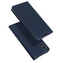 Dux Ducis Skin Pro telefoonhoes - Samsung Galaxy A10  - Blauw