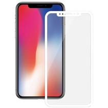 iPhone XS  Full Cover Screenprotector Wit