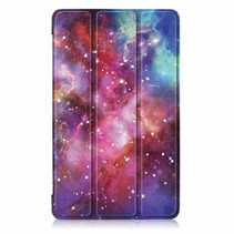 iPad Air 10.5 hoes (2019) - Tri-Fold Book Case - Galaxy