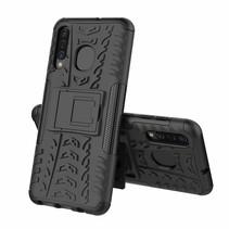 Samsung Galaxy A50 hoes - Schokbestendige Back Cover - Zwart