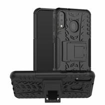 Samsung Galaxy M20 hoes - Schokbestendige Back Cover - Zwart