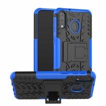 Samsung Galaxy M20 hoes - Schokbestendige Back Cover - Blauw