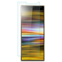 Sony Xperia 10 Plus - Tempered Glass Screenprotector - Case Friendly