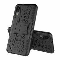 Samsung Galaxy M10 hoesje - Schokbestendige Back Cover - Zwart