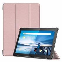 Lenovo Tab M10 Hoes - Tri-Fold Book Case - Rosé Goud