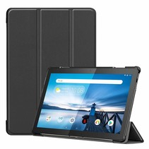 Lenovo Tab M10  hoes  - Tri-Fold Book Case (TB-X605) - Zwart