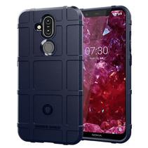 Nokia 1 Plus hoes - Heavy Armor TPU Bumper - Blauw