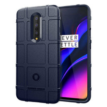 OnePlus 7 hoes - Heavy Armor TPU Bumper - Blauw