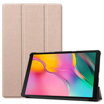 Samsung Galaxy Tab A 2019 hoes - Tri-Fold Book Case - Goud