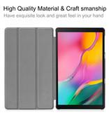Case2go Samsung Galaxy Tab A 10.1 (2019) hoes - Tri-Fold Book Case - Goud