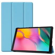 Samsung Galaxy Tab A 2019 hoes - Tri-Fold Book Case - Licht Blauw