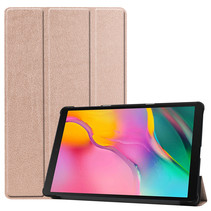 Samsung Galaxy Tab A 10.1 (2019) hoes - Tri-Fold Book Case - Rosé-Gold