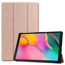 Samsung Galaxy Tab A 2019 hoes - Tri-Fold Book Case - Rosé-Gold