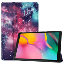 Samsung Galaxy Tab A 10.1 (2019) hoes - Tri-Fold Book Case - Galaxy