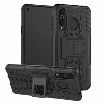 Samsung Galaxy A8s hoesje - Schokbestendige Back Cover - Zwart