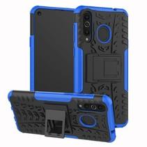 Samsung Galaxy A8s hoesje - Schokbestendige Back Cover - Blauw