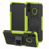 Samsung Galaxy A8s hoesje - Schokbestendige Back Cover - Groen