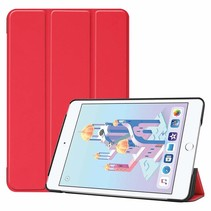 iPad Mini 2019 hoes - Tri-Fold Book Case - Rood