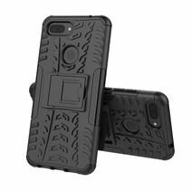 Xiaomi 8 lite hoesje - Schokbestendige Back Cover - Zwart