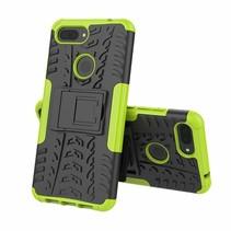 Xiaomi 8 lite hoesje - Schokbestendige Back Cover - Groen