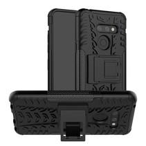 LG G8 ThinQ hoesje - Schokbestendige Back Cover - Zwart
