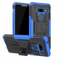 LG G8 ThinQ hoesje - Schokbestendige Back Cover - Blauw