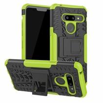 LG G8 ThinQ hoesje - Schokbestendige Back Cover - Groen