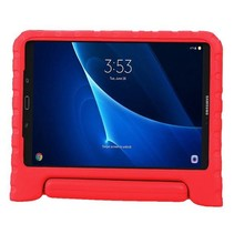 Samsung Galaxy Tab A 10.1 (2016/2018) hoes - Schokbestendige case met handvat - Rood