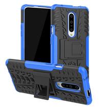 OnePlus 7 hoesje - Schokbestendige Back Cover - Blauw