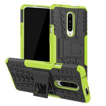 OnePlus 7 hoesje - Schokbestendige Back Cover - Groen